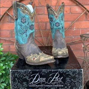 DAN POST NEW With Box Bluebird Leather Boots